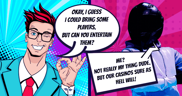 The casinos behind PlayAttack Affiliates manage to keep your players happy